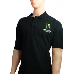 CHOMBA MONSTER CUELLO POLO NEGRA TALLE XXL