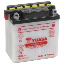BATERIA YUASA YB3L-A PARA HONDA CB1 125CC Y OTRAS
