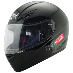 CASCO INTEGRAL AGV K-3 NEGRO BRILLANTE