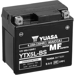 BATERIA YUASA YTX5L-BS DE GEL CG 125/150
