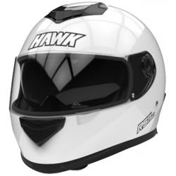 CASCO HAWK RS11 DOBLE VISOR BLANCO
