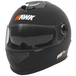 CASCO HAWK RS11 DOBLE VISOR NEGRO MATE
