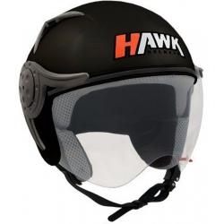 CASCO HAWK RS9 NEGRO MATE